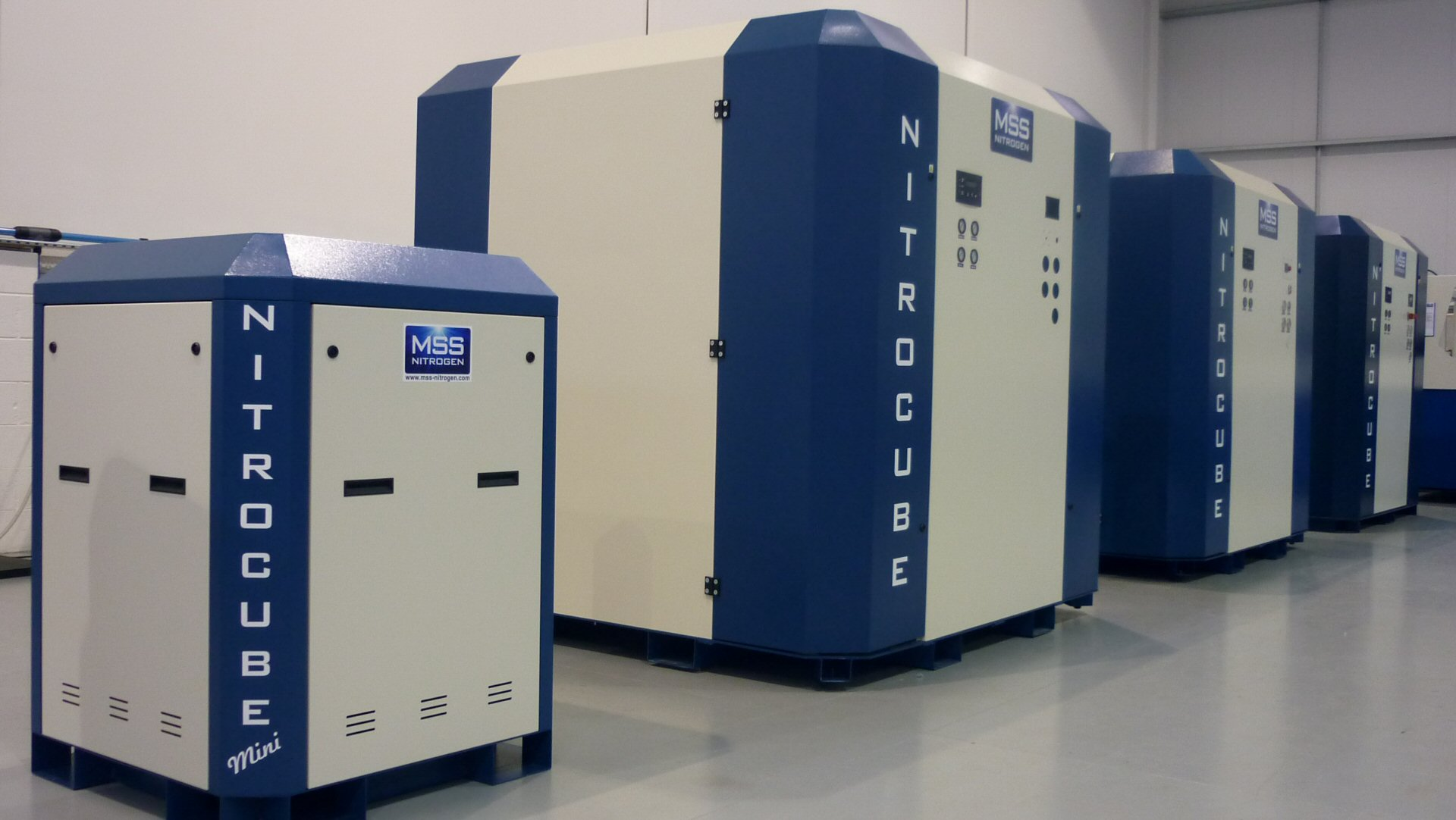 NitroCube Nitrogen Generation Systems for Laser Cutting - MSS Lasers