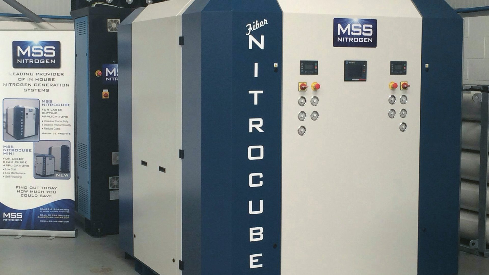 NitroCube Nitrogen Generation Systems for Laser Cutting